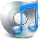 128x128px size png icon of iTunes