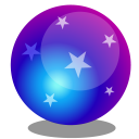 128x128px size png icon of Magic ball