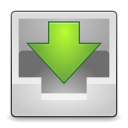 128x128px size png icon of Actions mail inbox
