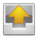 128x128px size png icon of Actions mail outbox