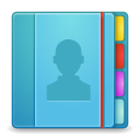 128x128px size png icon of Apps addressbook