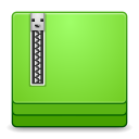 128x128px size png icon of Apps file roller