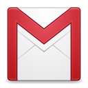 128x128px size png icon of Apps gmail