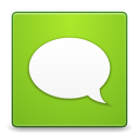 128x128px size png icon of Apps gwibber