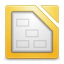 128x128px size png icon of Apps libreoffice draw