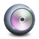 128x128px size png icon of DVD