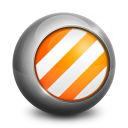128x128px size png icon of VLC