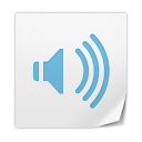 128x128px size png icon of Clipping Sound