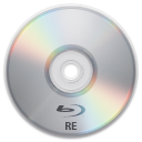 128x128px size png icon of Device BD RE