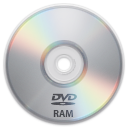 128x128px size png icon of Device DVD RAM