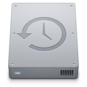 128x128px size png icon of Device Time Machine Internal