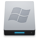 128x128px size png icon of Device Windows External