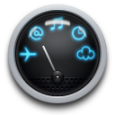 128x128px size png icon of Dock Dashboard