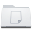 128x128px size png icon of Folder Documents White