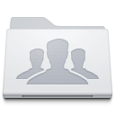 128x128px size png icon of Folder Group White