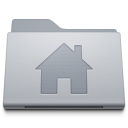 128x128px size png icon of Folder Home Alternate