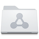 128x128px size png icon of Folder Sharepoint White
