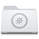 128x128px size png icon of Folder Sites White
