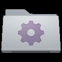 128x128px size png icon of Folder Smart Alternate