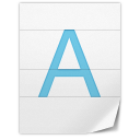 128x128px size png icon of General Font