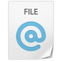 128x128px size png icon of Location File