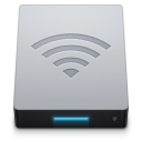 128x128px size png icon of Network AirPort Disk