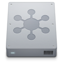 128x128px size png icon of Network Server Internal