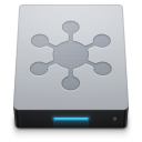 128x128px size png icon of Network Server