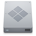 128x128px size png icon of device boot camp internal