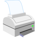 128x128px size png icon of ModernXP 04 Printer