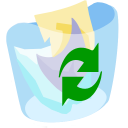 ModernXP 76 Trash Full Icon
