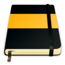 moleskine orange 512 Icon