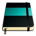 128x128px size png icon of moleskine turquoise 512