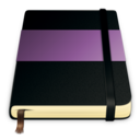 128x128px size png icon of moleskine violet 512