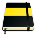 128x128px size png icon of moleskine yellow 512