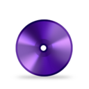 128x128px size png icon of Disk DVD R
