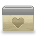128x128px size png icon of Folder Favorites