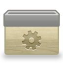 128x128px size png icon of Folder Gear