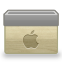 128x128px size png icon of Folder Mac