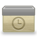 128x128px size png icon of Folder Scheduled
