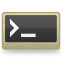 128x128px size png icon of Sys Command