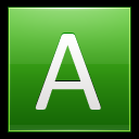 128x128px size png icon of Letter A lg