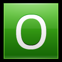 128x128px size png icon of Letter O lg