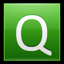 128x128px size png icon of Letter Q lg