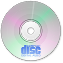 128x128px size png icon of Audio Disk