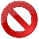 128x128px size png icon of Cancel