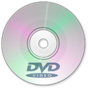 128x128px size png icon of DVD Disk