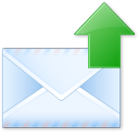128x128px size png icon of Send