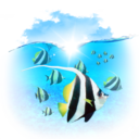128x128px size png icon of Animals Fishes