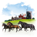 128x128px size png icon of Animals Horses